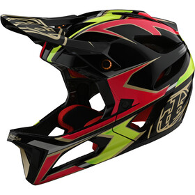 Troy Lee Designs Stage MIPS Helm ropo pink/yellow